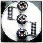 zelf coils maken dual nano coil build